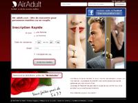 Femme mariée cherche amant sur Air Adult